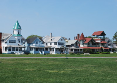 Opulent Victorians, Oak Bluffs, Martha's Vineyard.* Photo: Ted Scull