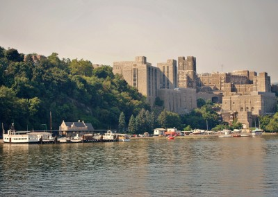 Having visited West Point.  *  Photo: Ted Scull
