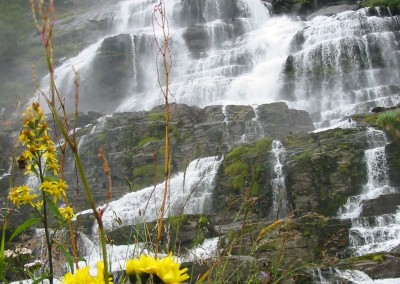 Waterfalls near Flam. *  Photo: Heidi Sarna