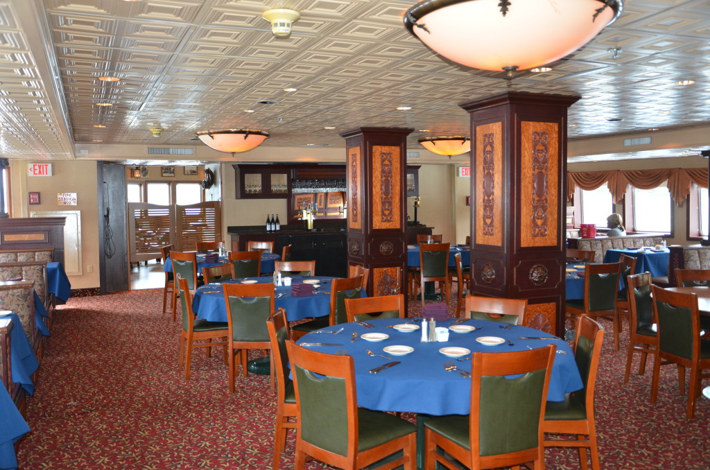 Klondike Dining Saloon. * Photo: Ted Scull