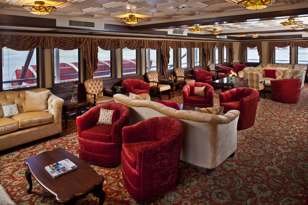 American Pride - Paddlewheel Lounge.* Photo: American Cruise Lines