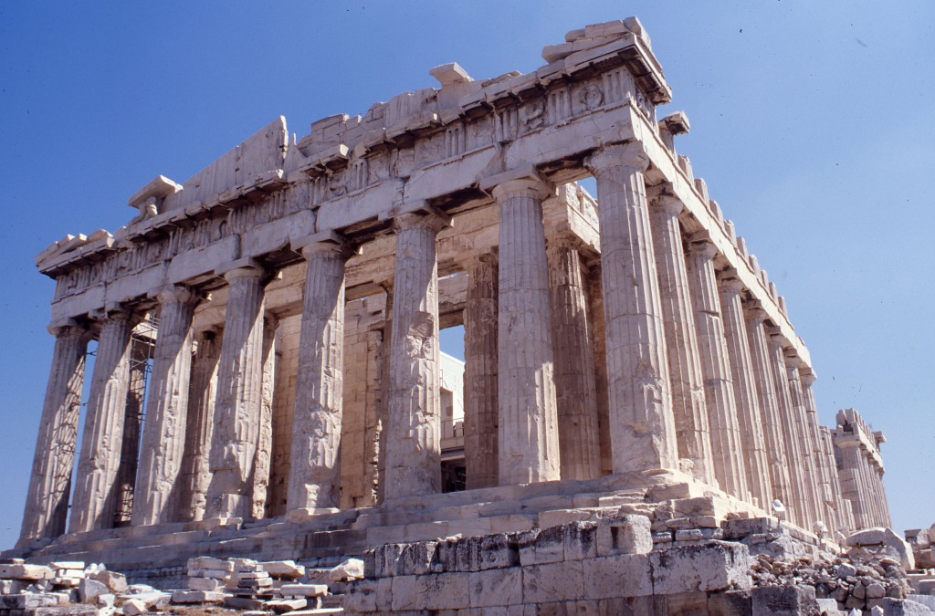 Acropolis, Athens. * Photo: Ted Scull