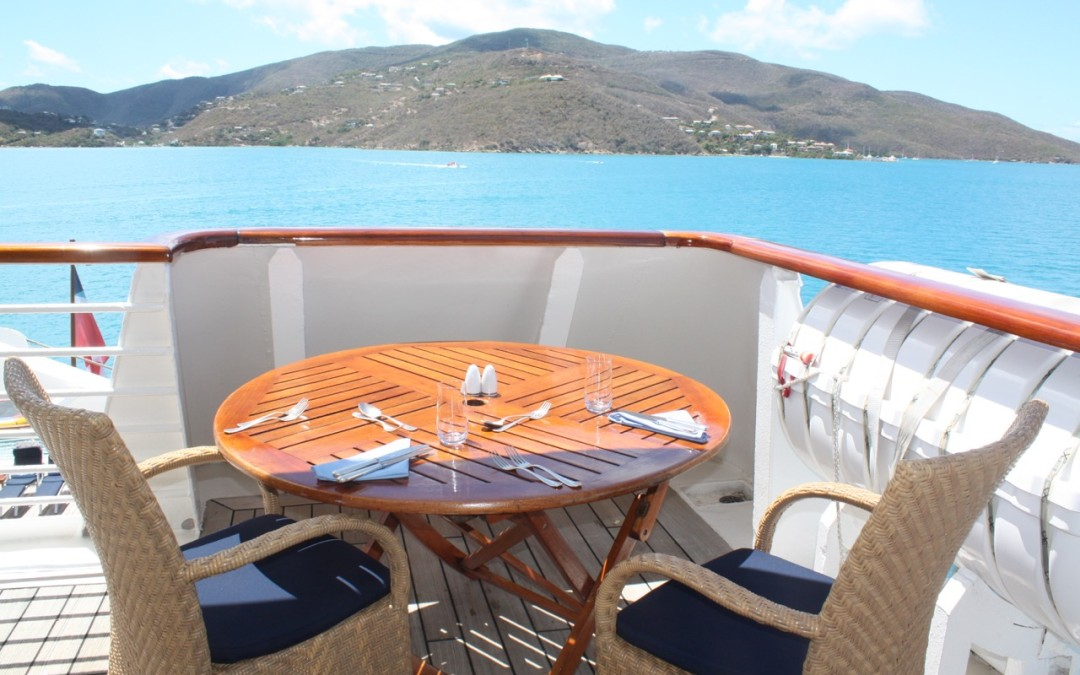 Hopping Aboard a Sea Dream in the Virgin Islands, a Heavenly Small Ship Cruise