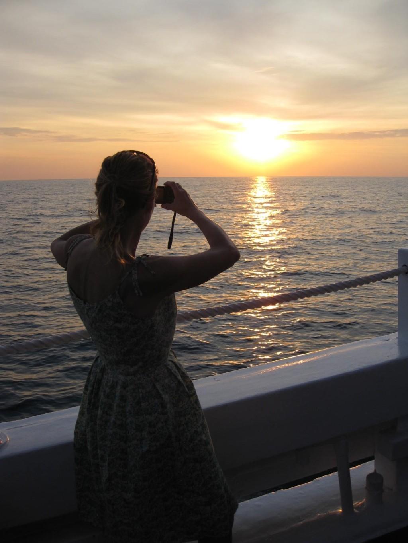 Stunning sunsets. * Photo Credit: Heidi Sarna