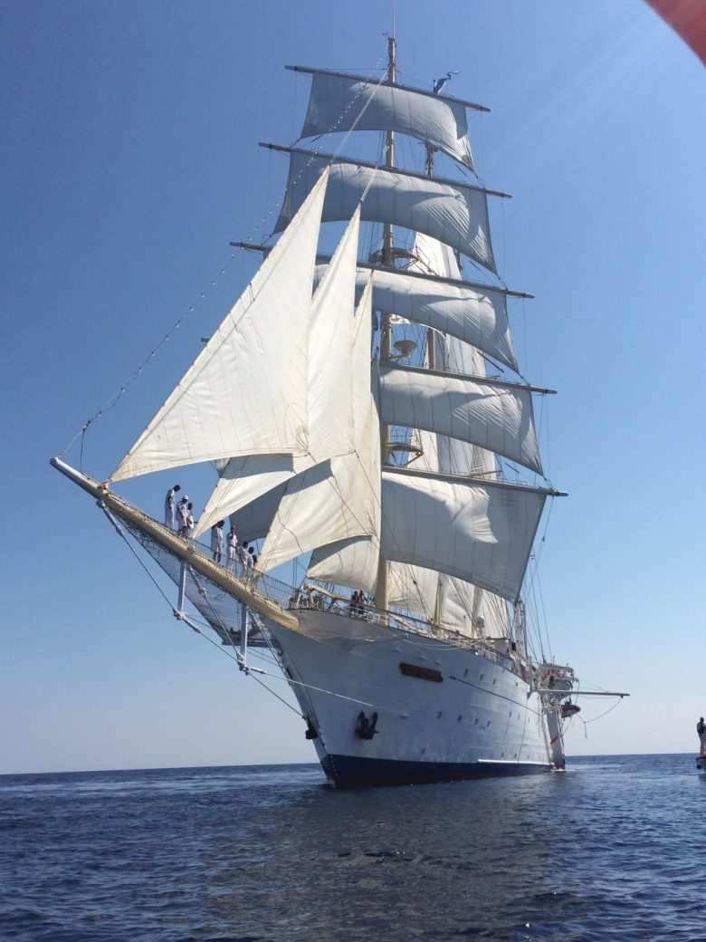 Small Ship Cruising In The Greek Isles With The Kids Star Clippers Style Quirky Cruise