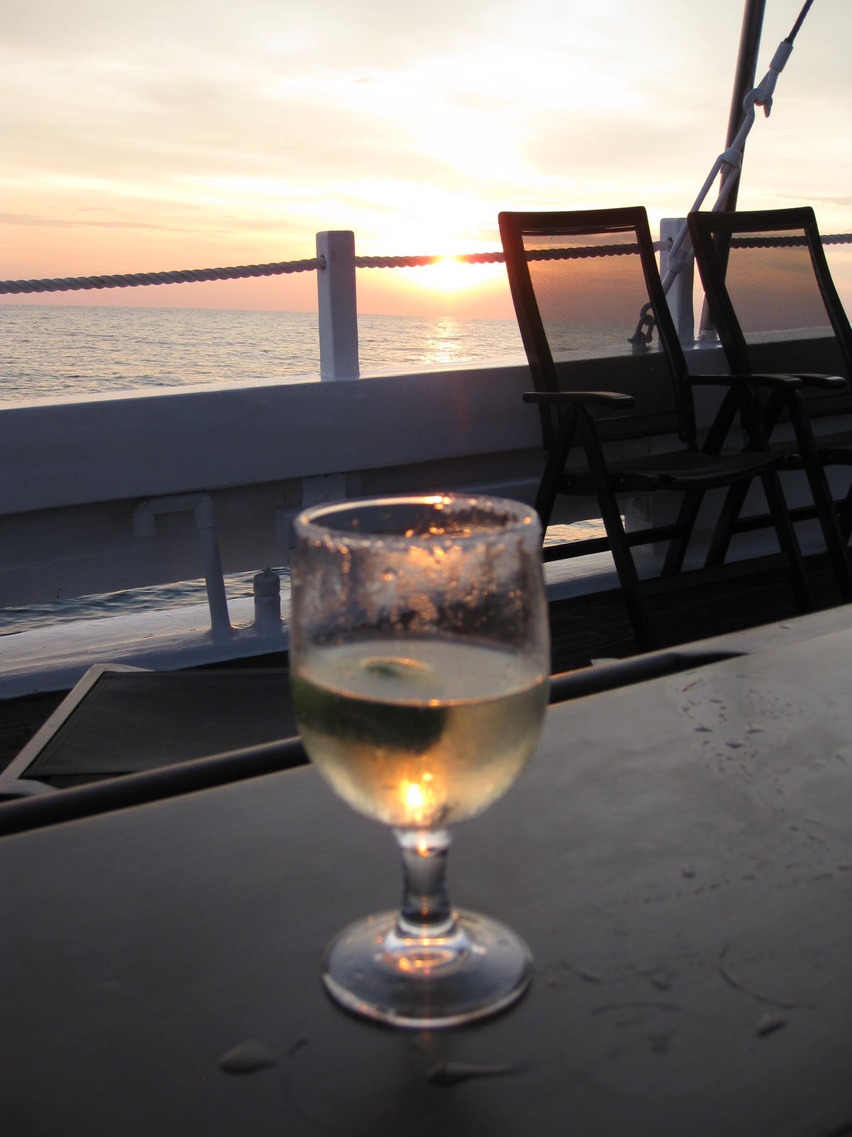 Sunsets and Sauv Blanc, what else is there? * Photo: Heidi Sarna