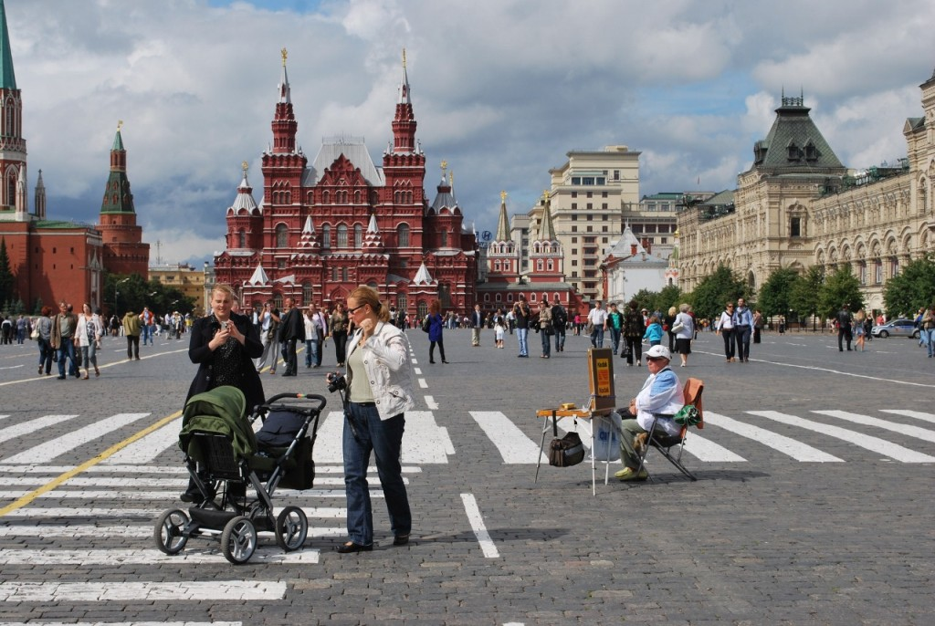 Red Square, Moscow. * Photo: Ted Scull