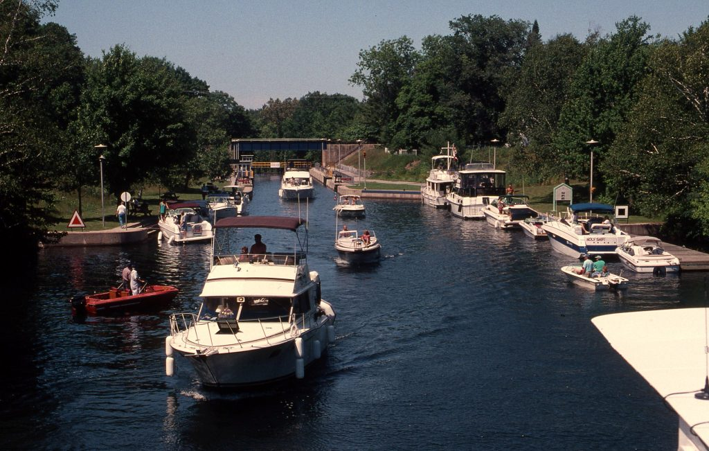 Summertime boating on Ontario's Waterways.
