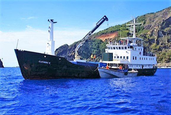 Pitcairn Island gets visits by the Claymore II