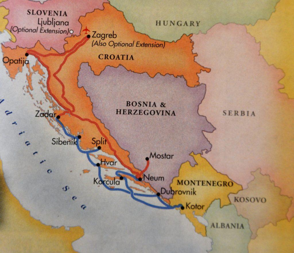 Adriatic coastal cruise. * Photo: Grand Circle