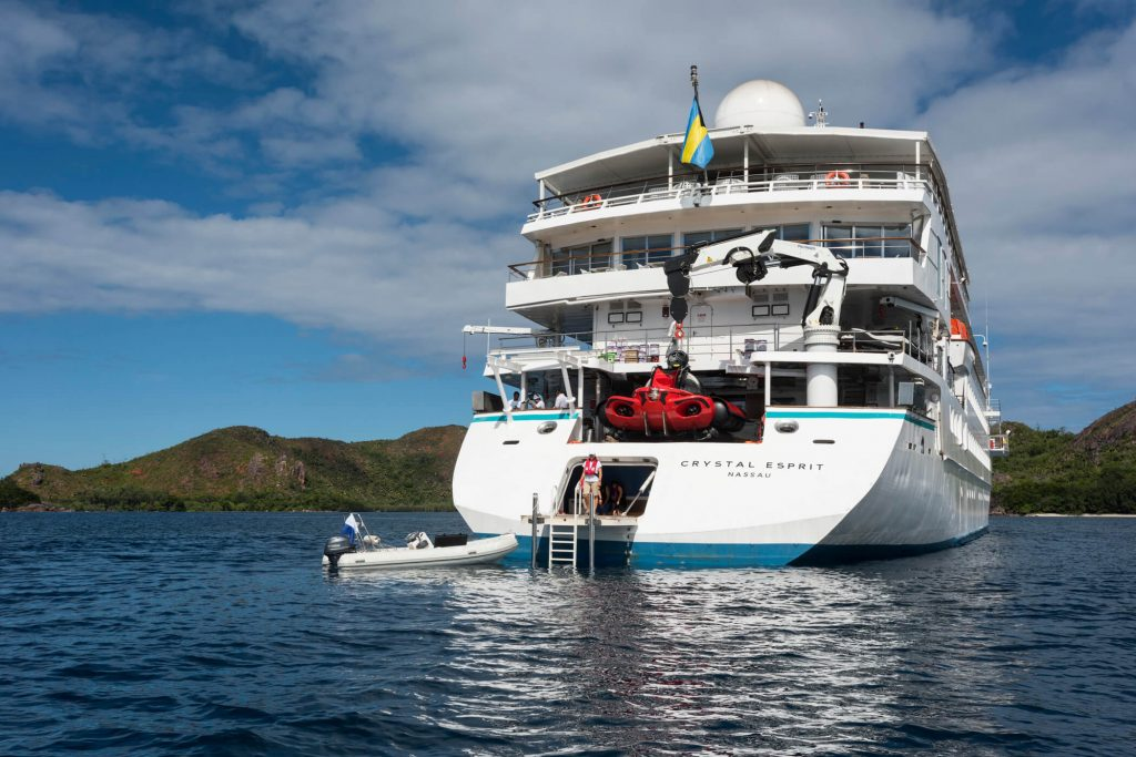 Crystal Yacht Expedition Cruises