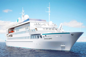 Crystal dips its toe into the small-ship market with Esprit.  *  Photo: Crystal Cruises