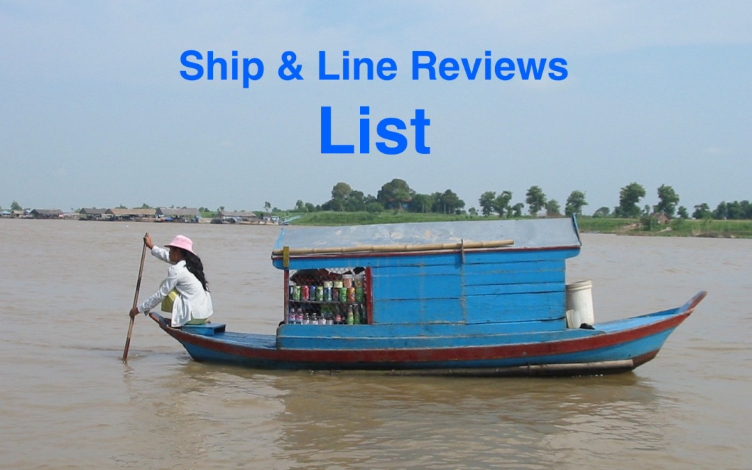 List of All Small-Ship Cruise Line Reviews