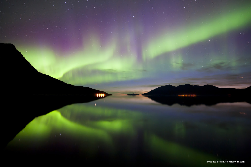Aurora Borealis, Norway.* Photo Gaute Bruvik-Visit Norway