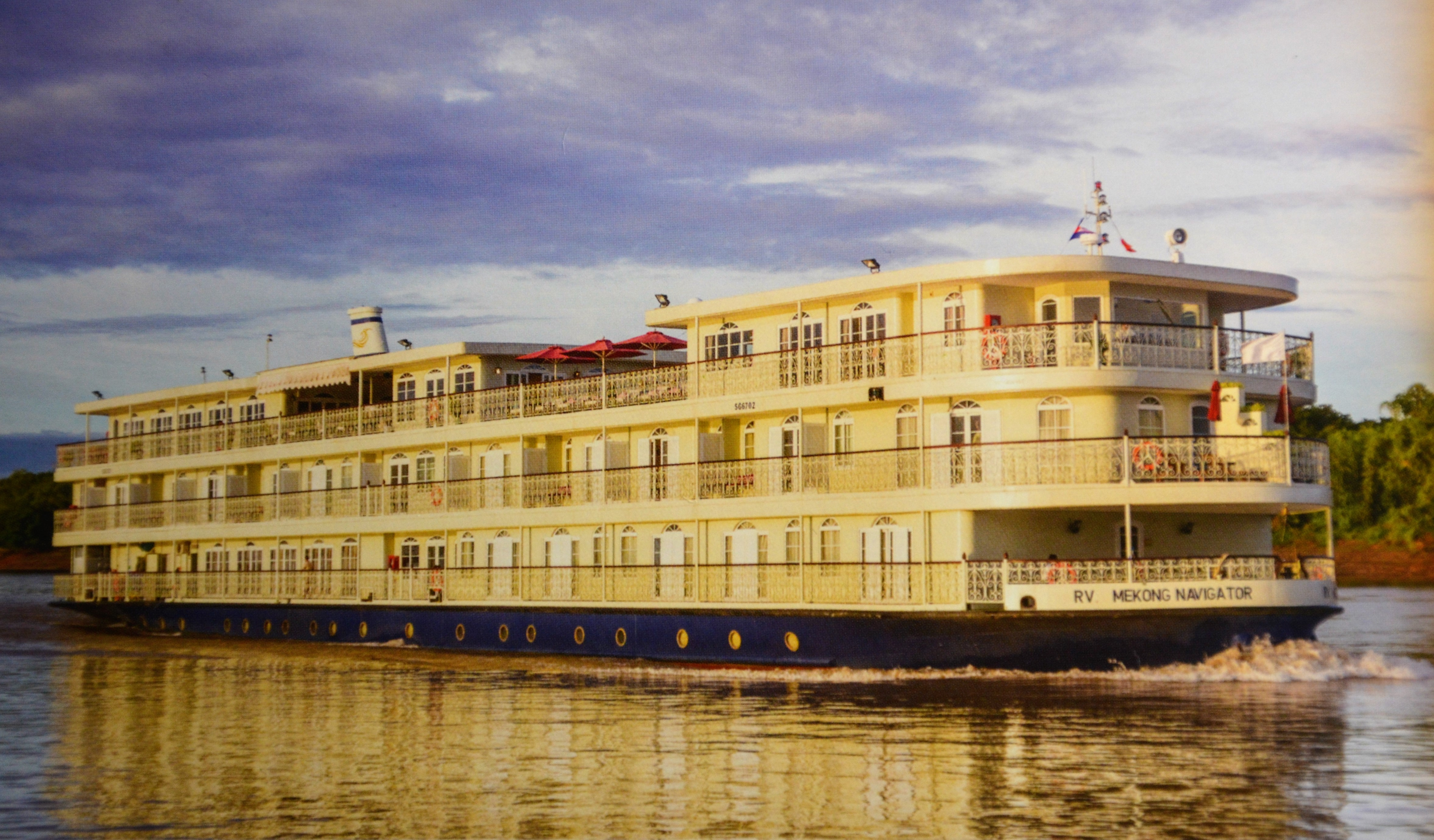 Mekong Navigator cruises Cambodia and Vietnam. * Photo: Emerald Waterways