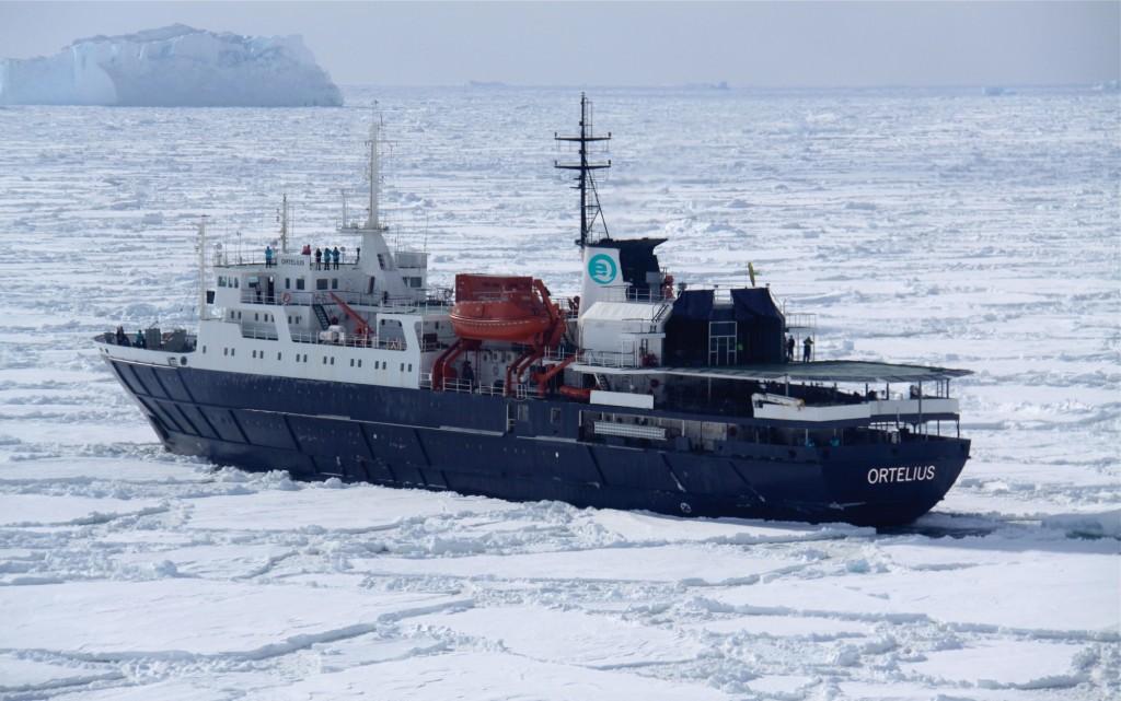 Ortelius in the Ross Sea, Antarctica. * Photo: Oceanwide Expeditions