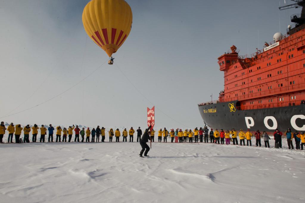 North Pole. * Photo: Quark Expeditions