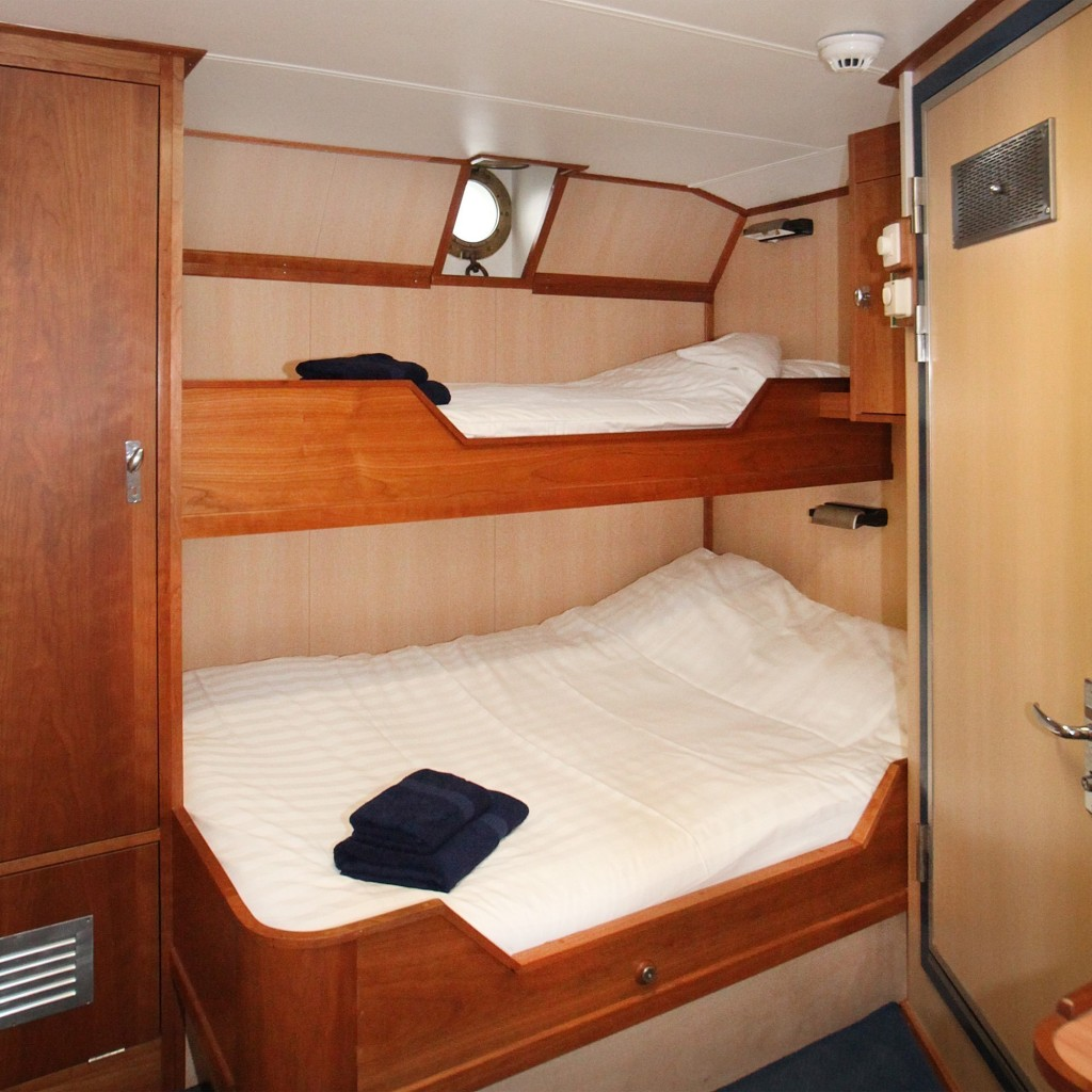 Triple Cabin. *Photo: Monica Salmang-Oceanwide Expeditions