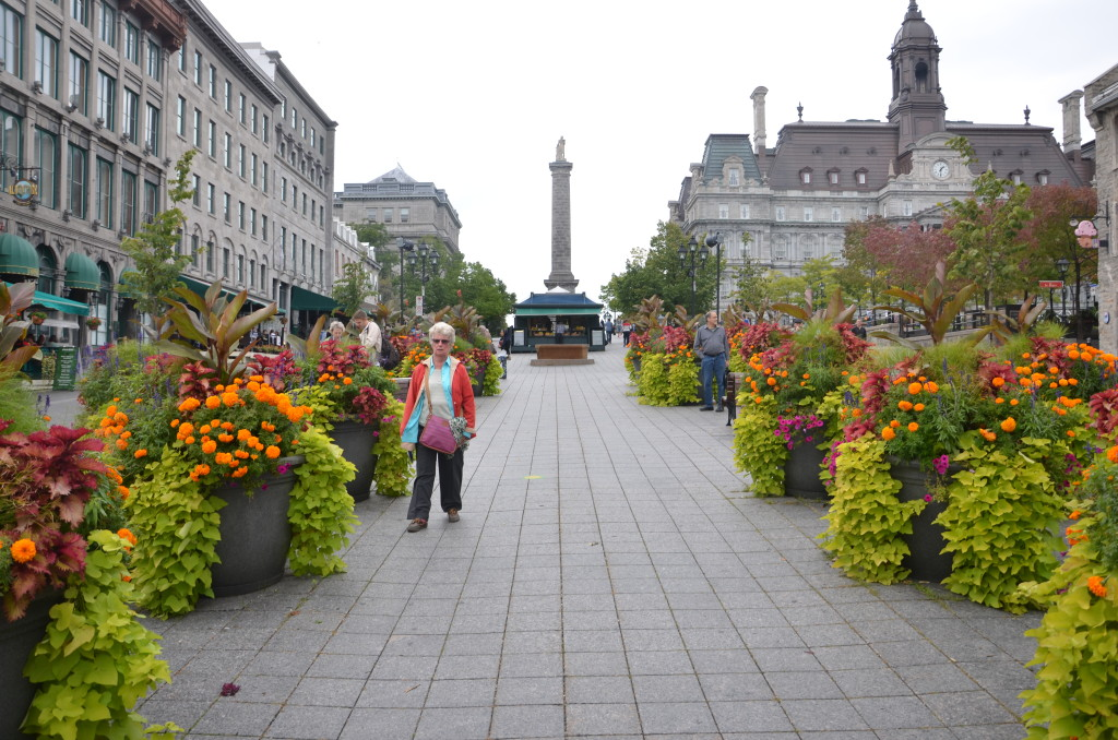 A lovely promenade in Old Montreal. * Photo: Ted Scull