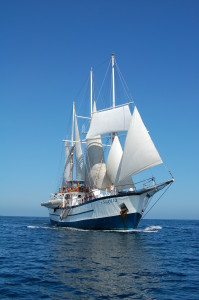Sailing small ship cruises
