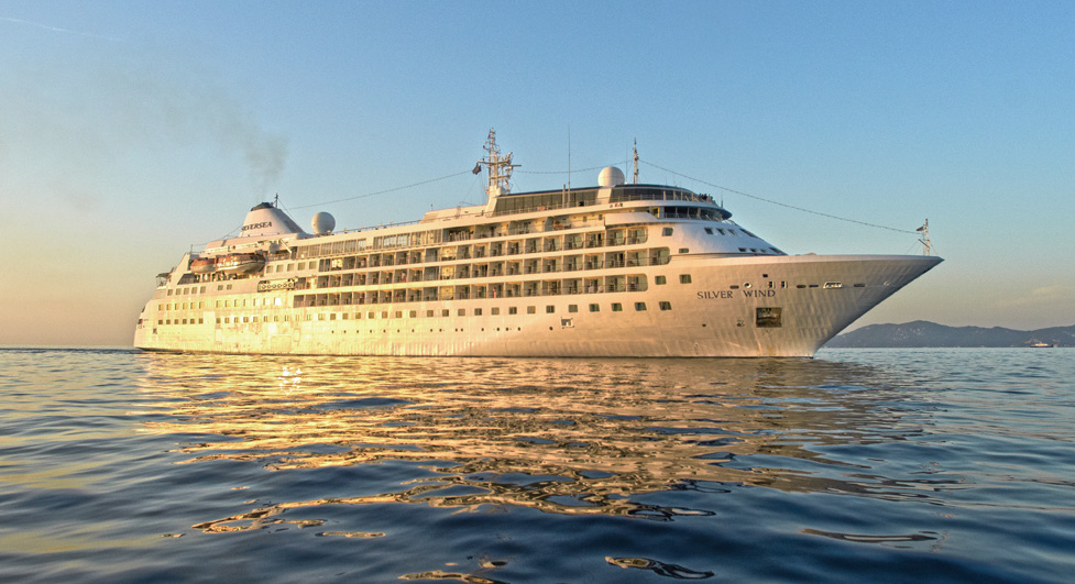 The Silver Wind carries 296 passengers double occupancy. * Photo: Silversea Cruises