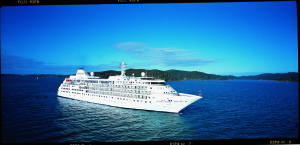 Silver Cloud pre conversion. * Photo: Silversea Cruises