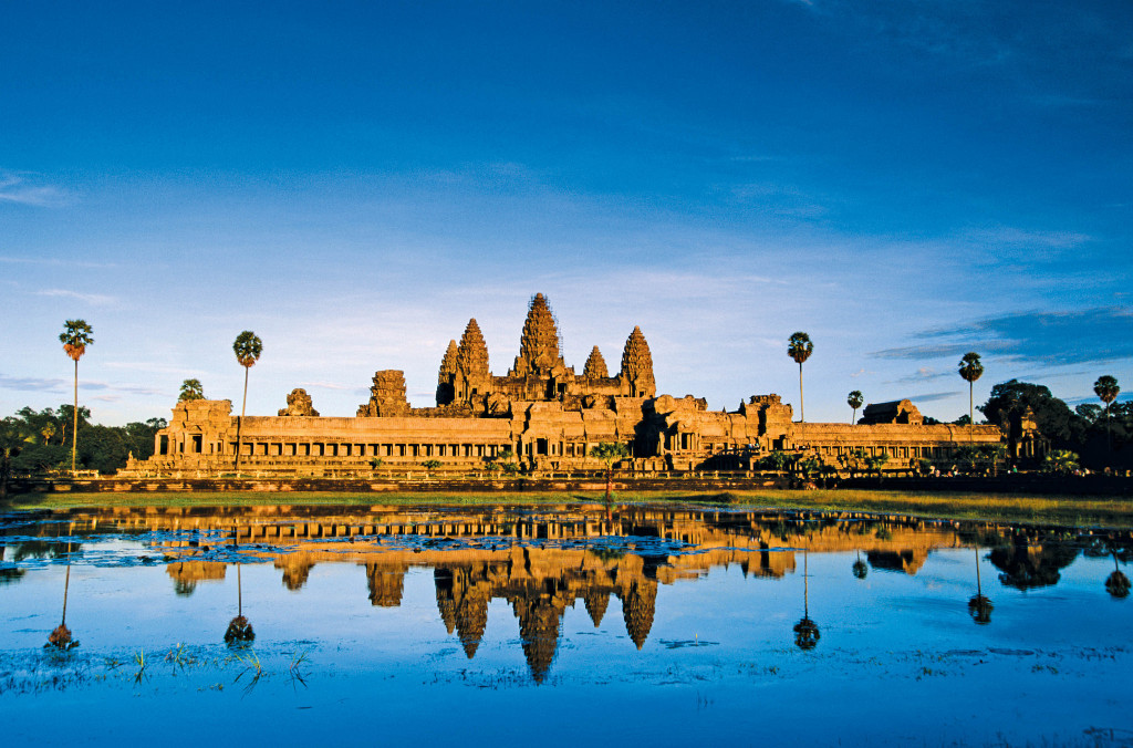 Angkor Wat, Cambodia, a pre- or post-Mekong River cruise stopover. * Photo: Gillies and Zaiser
