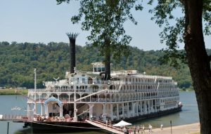 The 1995-built American Queen sure is a looker! * Photo: Ted Scull