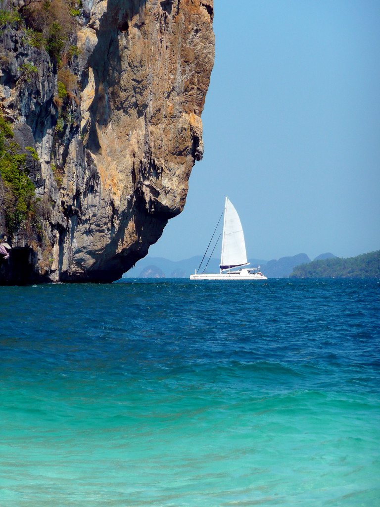 A catamaran cruise in the waters of Thailand. * Photo: © G Adventures, Inc.