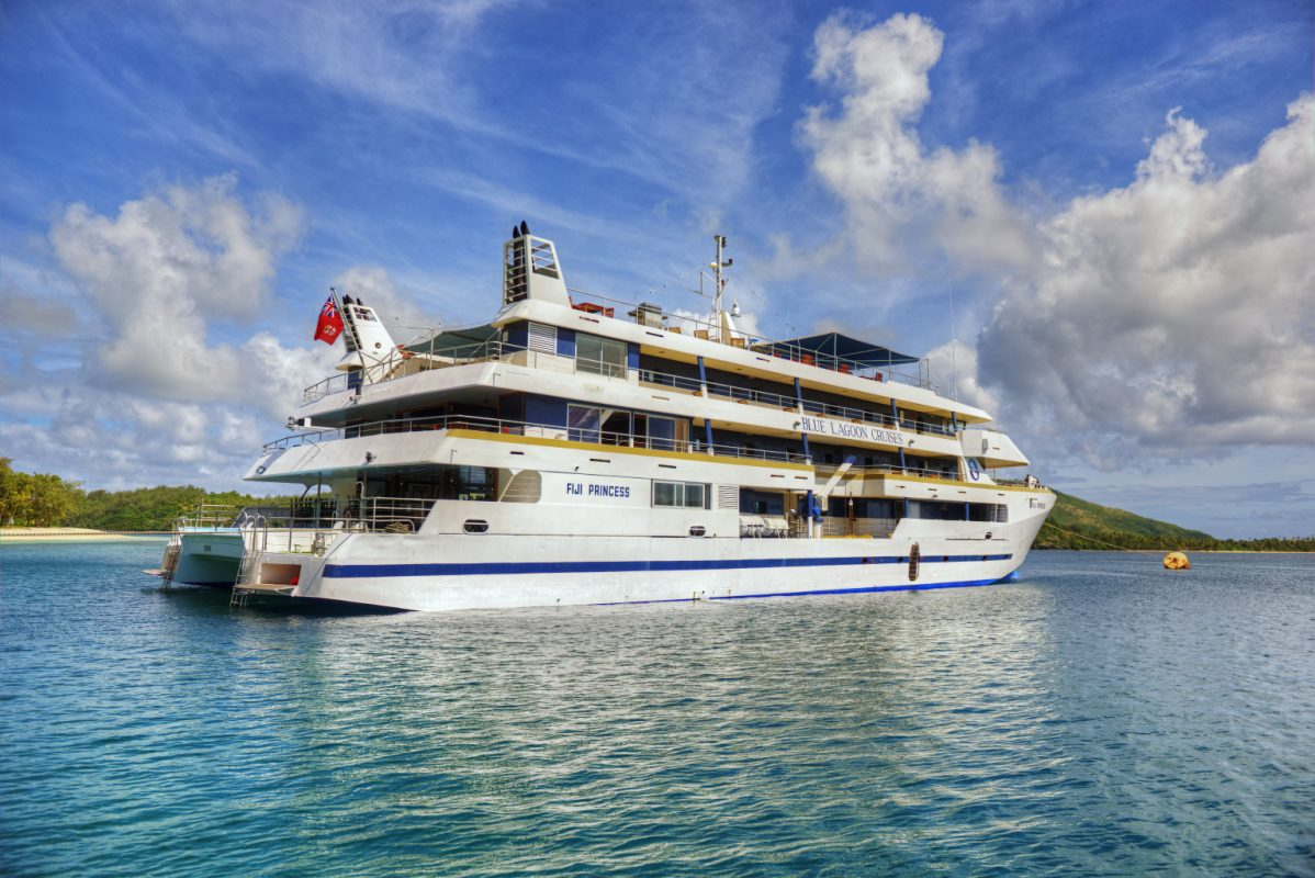 small ship cruise line review  blue lagoon cruises