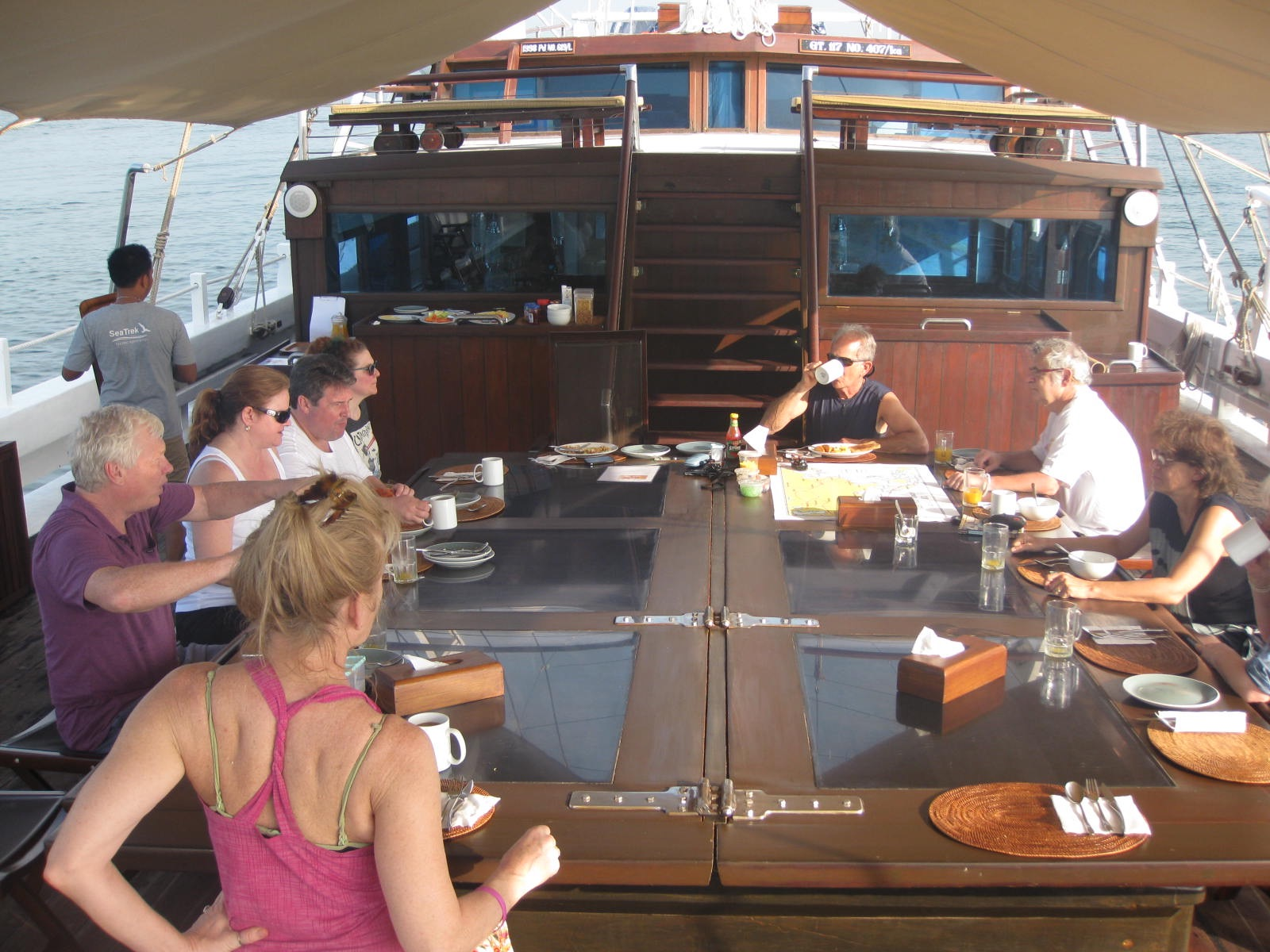 It's easy to make friends on an intimate small ship. * Photo: Heidi Sarna