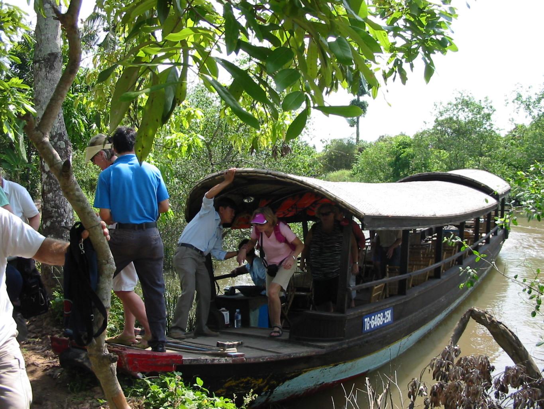 Excursions on small-ship cruises may entail using local boats. * Photo: Heidi Sarna