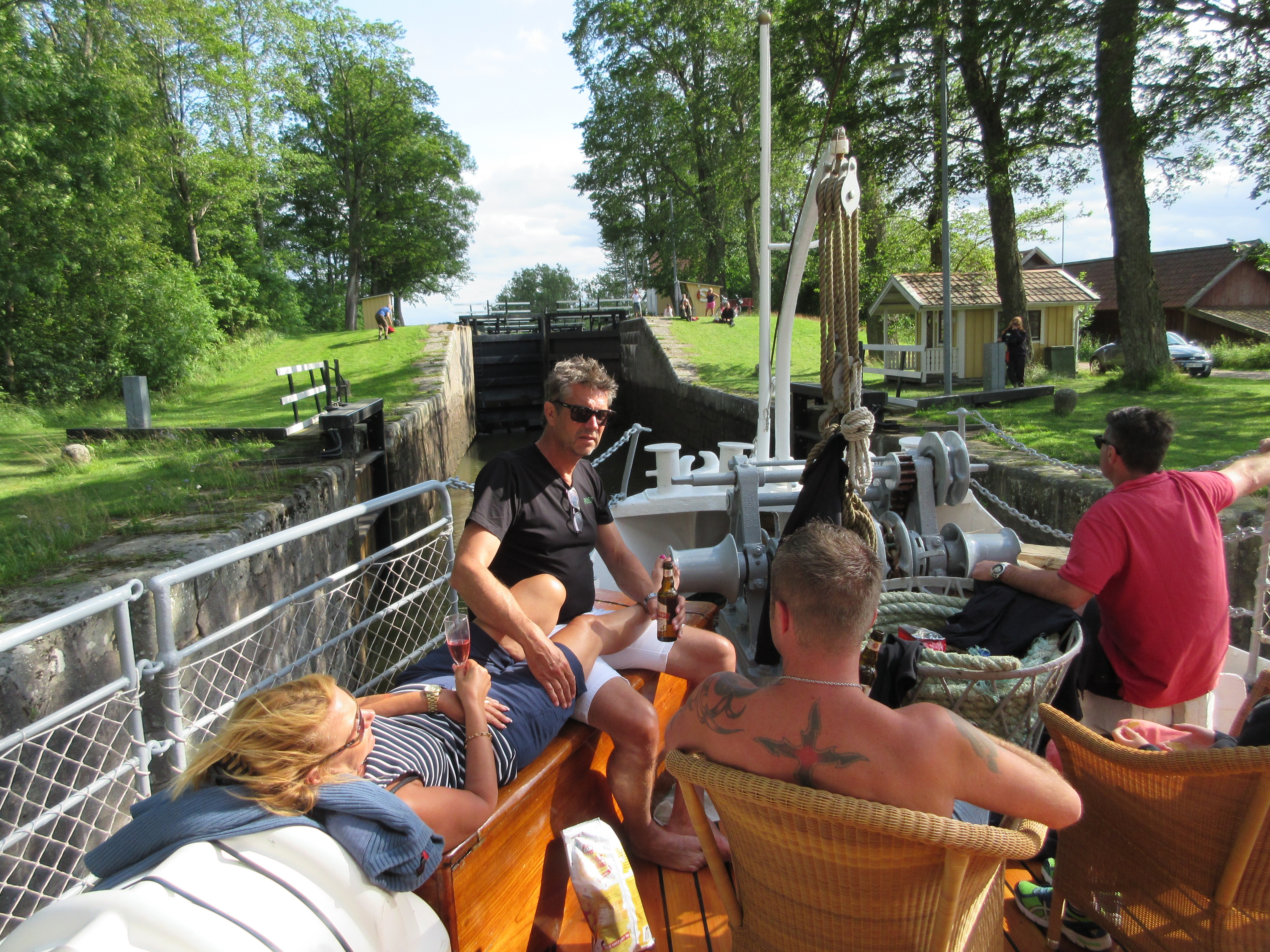 Foredeck lock canal ppl