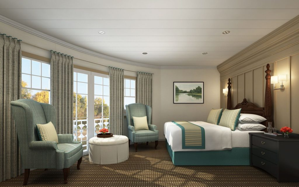 Panorama Suite. * Photo: French America Line