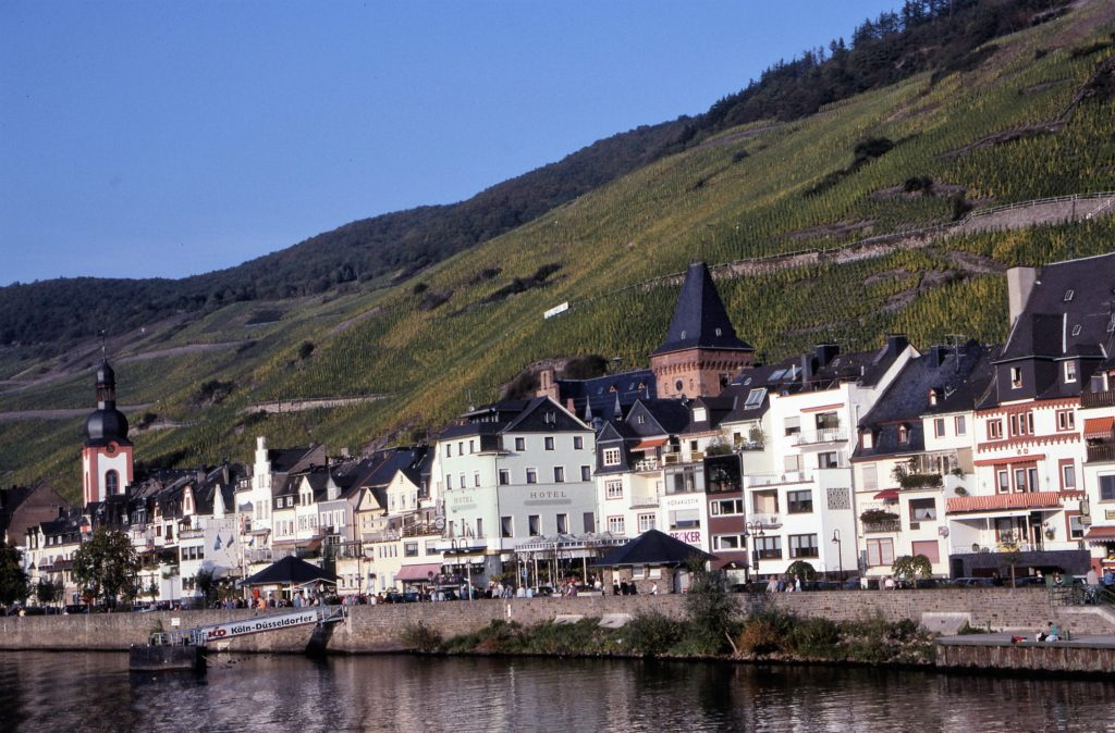 The Moselle River town of Zeller. * Photo: Ted Scull