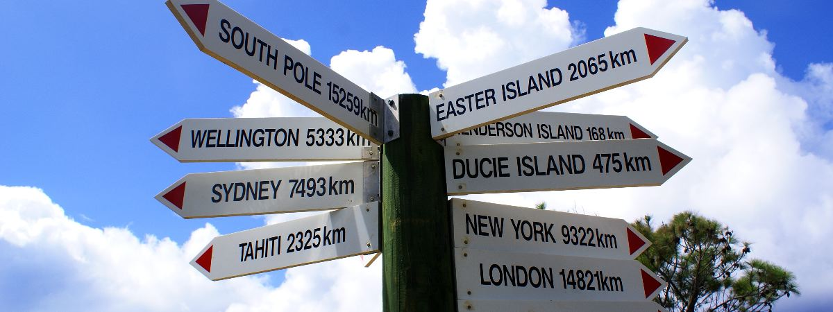 Now you know how far away you are. * Photo: Pitcairn Island Tourism