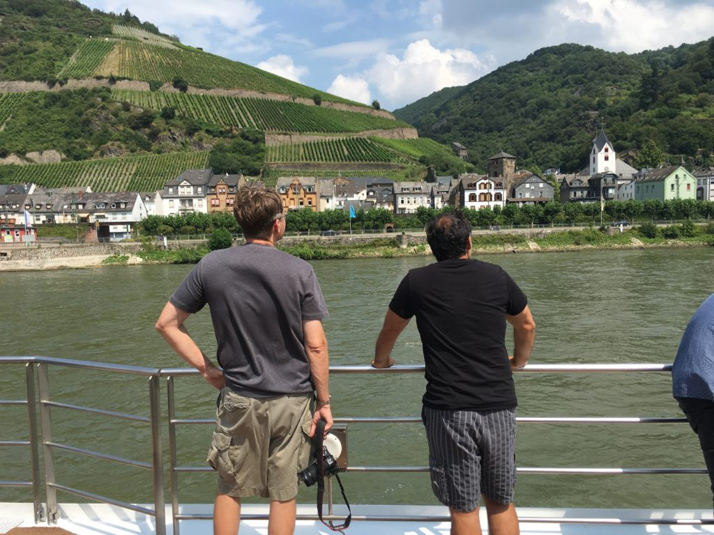 Castles of the Middle Rhine are a photo fest. * Heidi Sarna