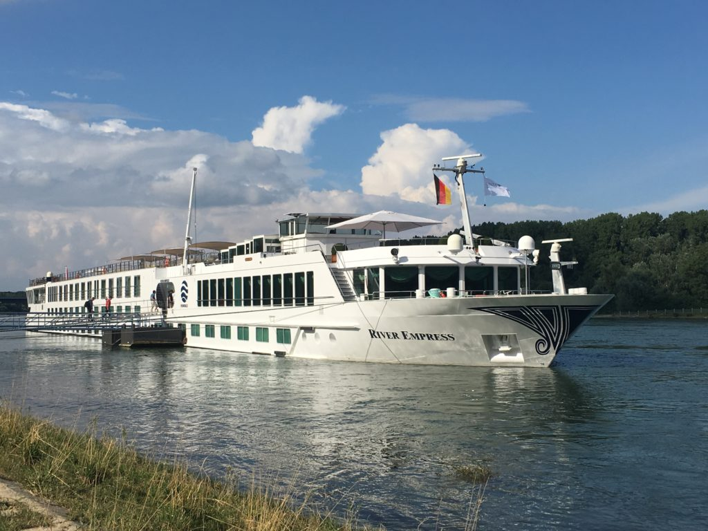 Uniworld's 130-passenger River Empress. * Heidi Sarna