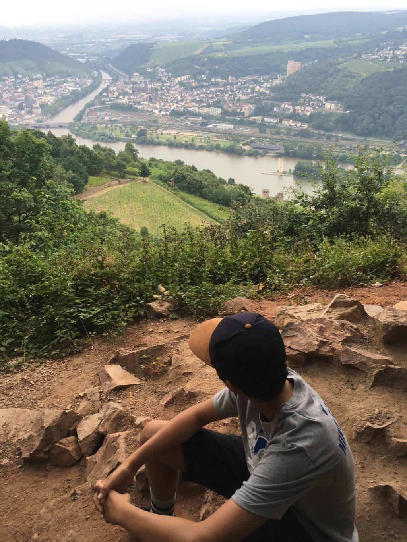 Hi little Rhine way down below, near Rudesheim. * Heidi Sarna