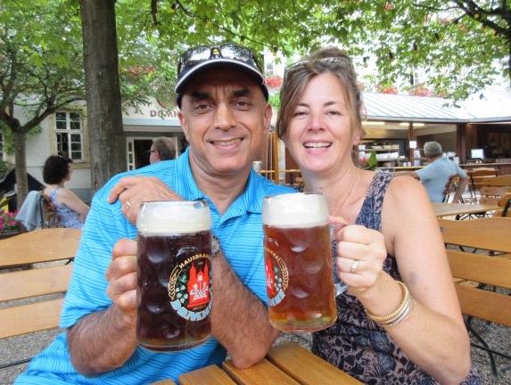 Local Speyer beer, YUM! * Heidi Sarna