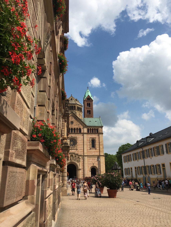 Gorgeous Speyer street scene. * Heidi Sarna