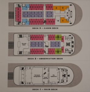 American Duchess deck plans.