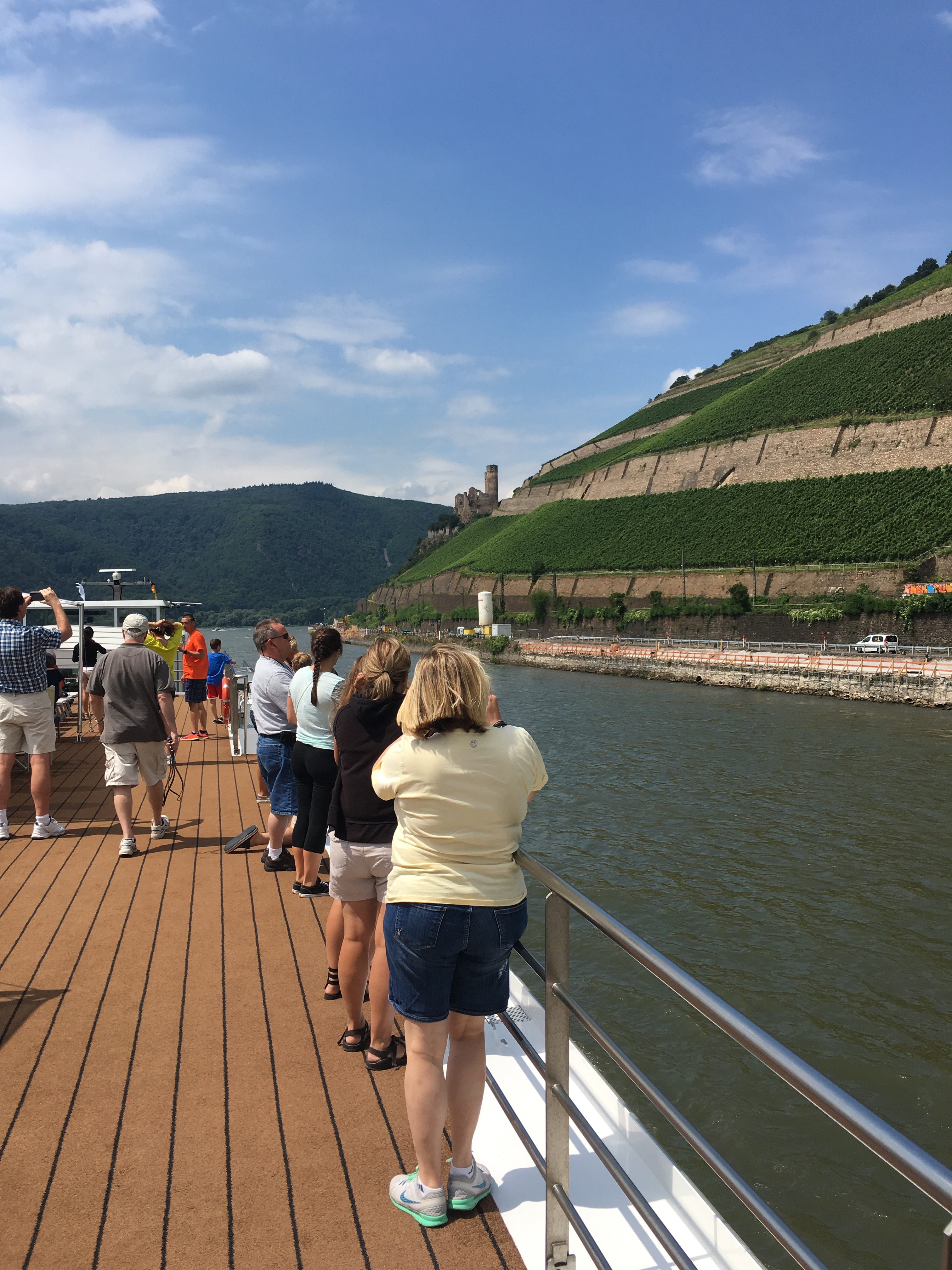 The gorgeous Middle Rhine. * Photo: Heidi Sarna