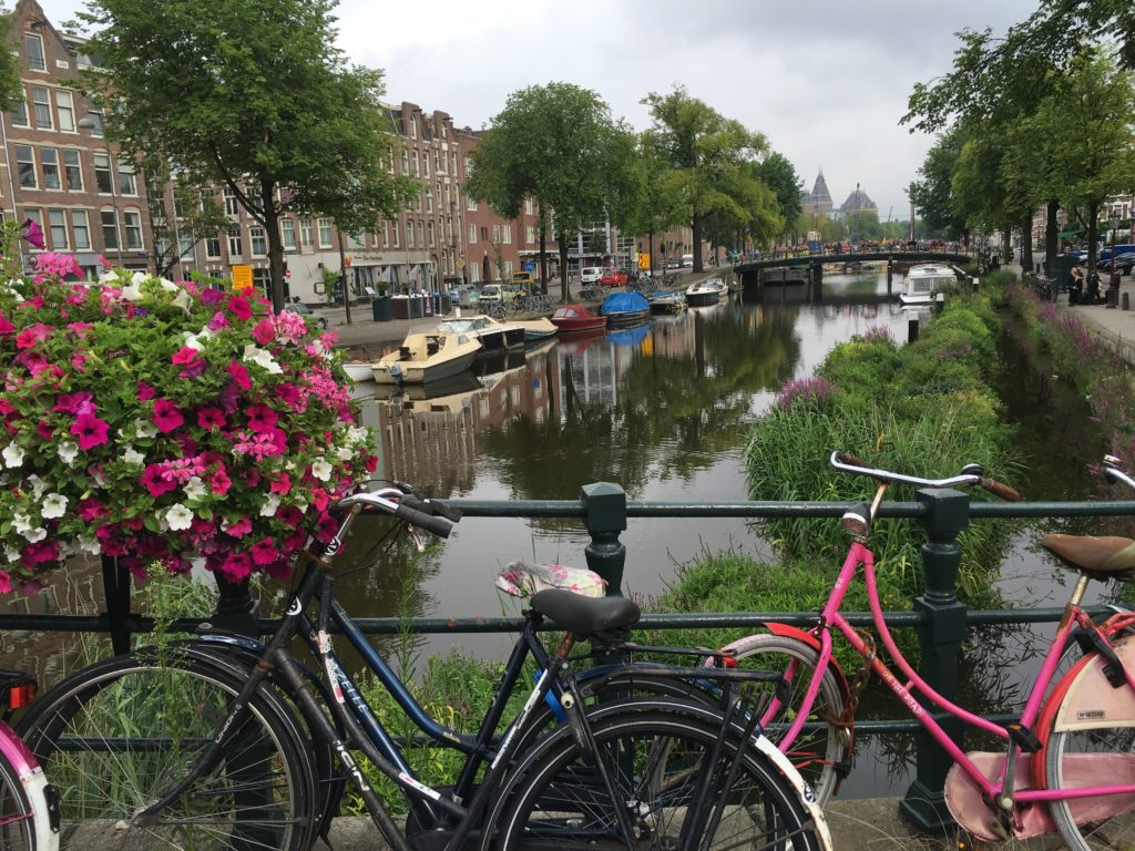 Amsterdam, what else but canals and bicycles. * Photo: Heidi Sarna