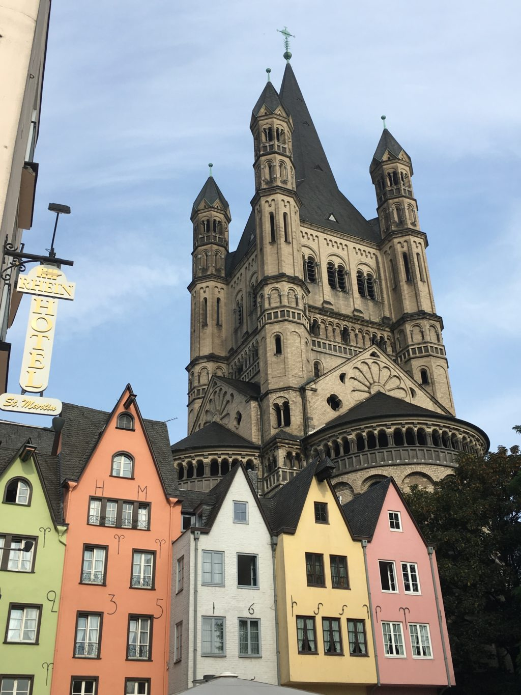 A lovely corner of Cologne. * Photo: Heidi Sarna