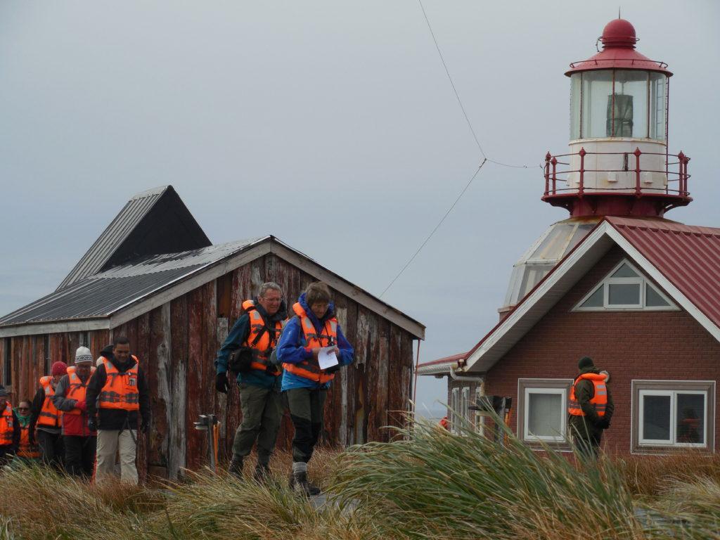 The Cape Horn Lighthouse. * Photo: Randy Mink