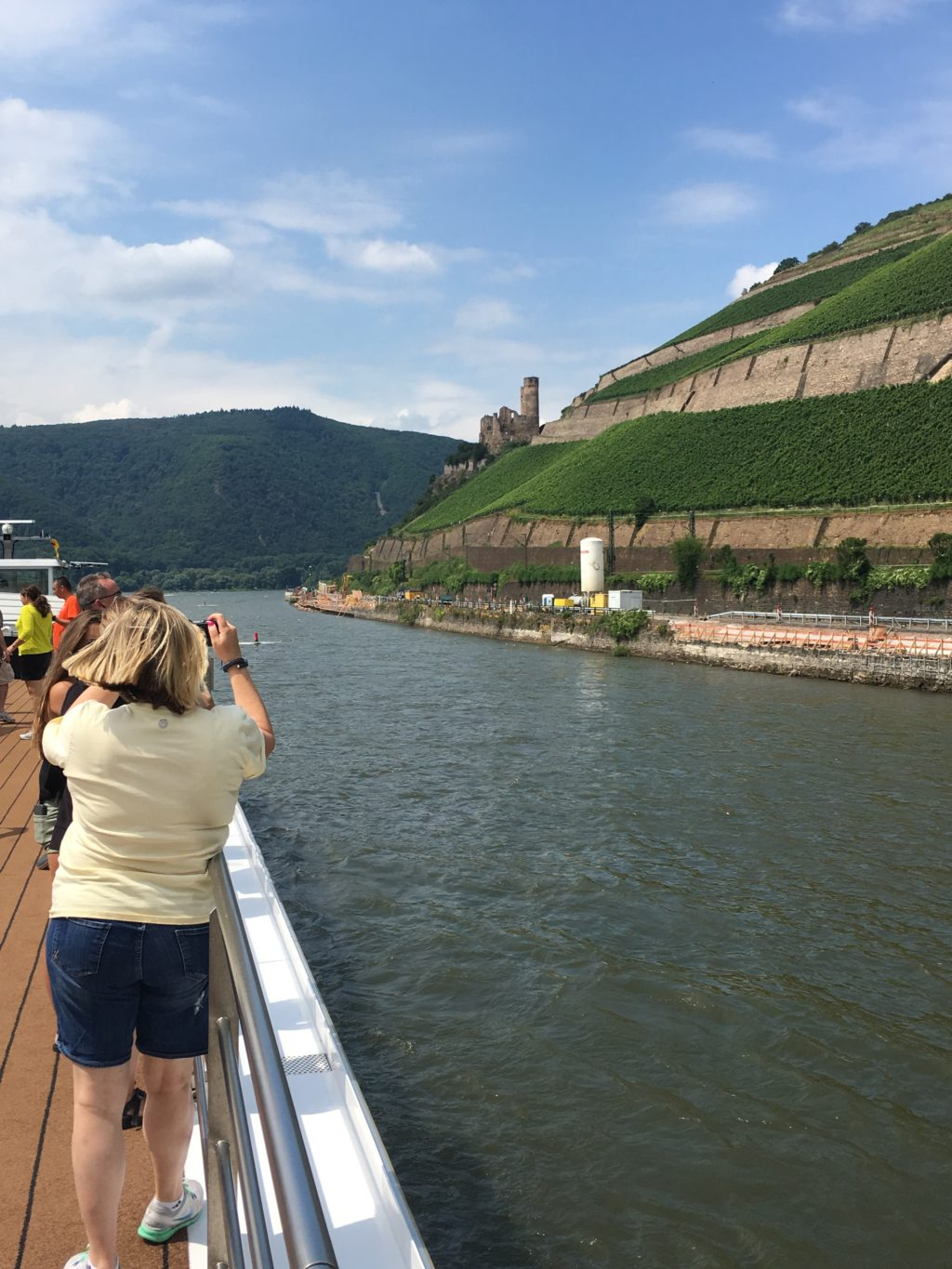 Like most of the passengers, Plaatje's favorite section of the river is the scenic Middle Rhine. * Photo: Heidi Sarna