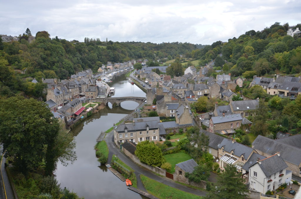 Dinan, Brittany Northern France. * Photo: Ted Scull