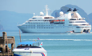 Star Legend heads back to Asia, including Thailand's Ko Yao Noi. * Photo: Windstar Cruises