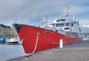 PROUD SEAHORSE - New Ship. * Photo: Hebrides Cruises